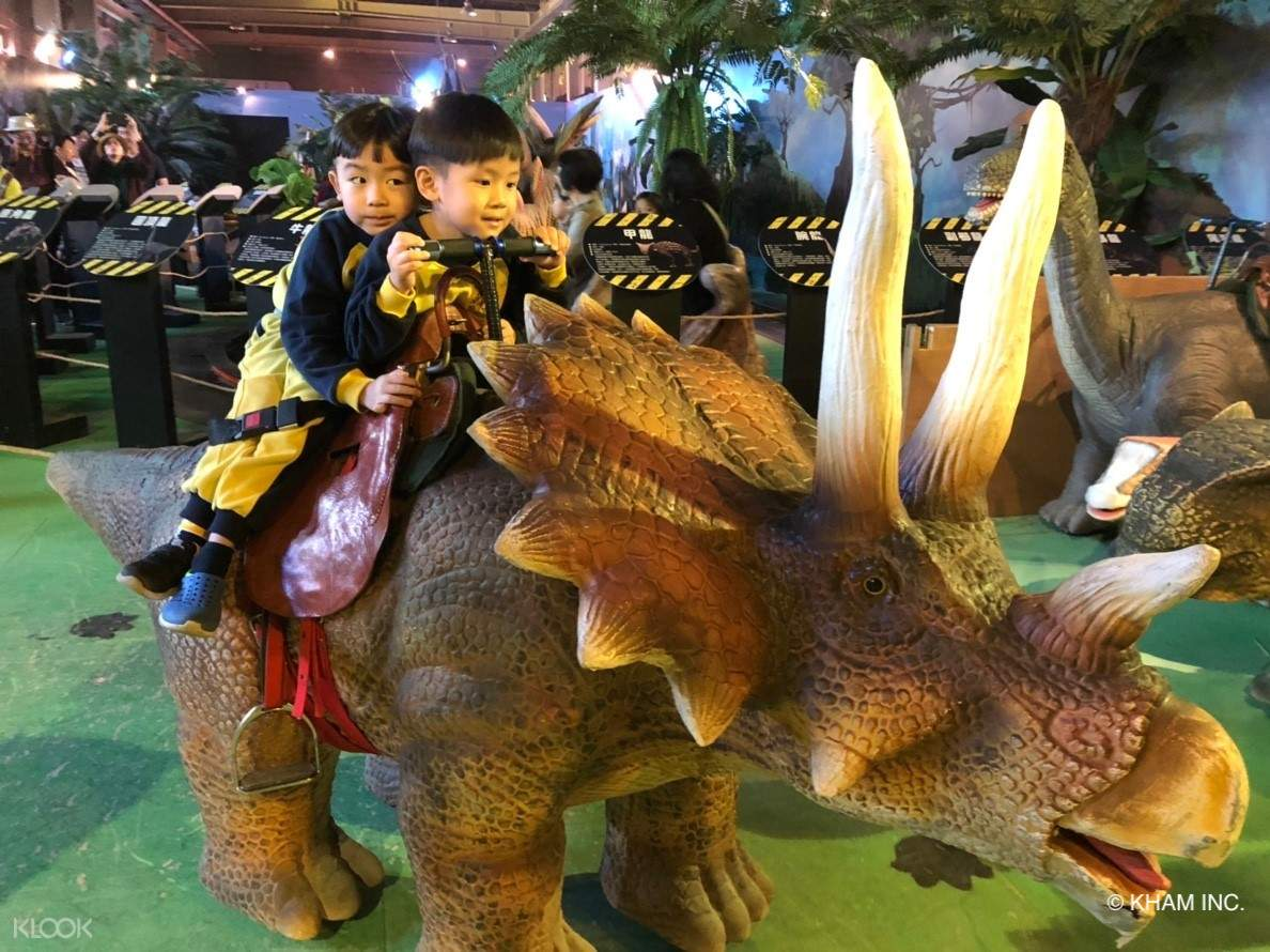 4.   騎乘恐龍區
